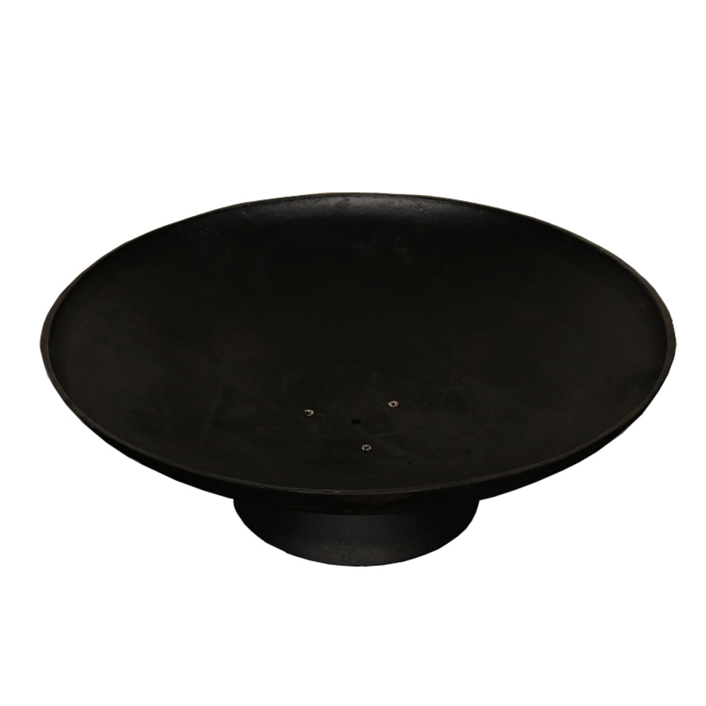Lassen Black Cast Iron Firepit 78cm