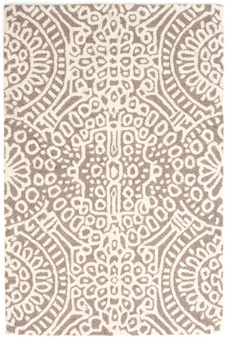 Temple Taupe Woollen Rug