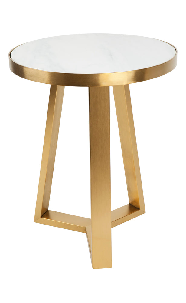 ... Dwell Side Table Gold Medium ...