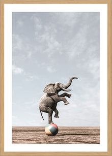 Circus Print with Frame