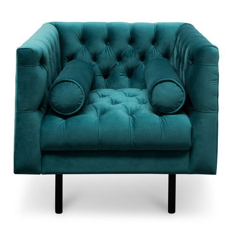 Piccadilly Armchair Electric Deep Turquoise