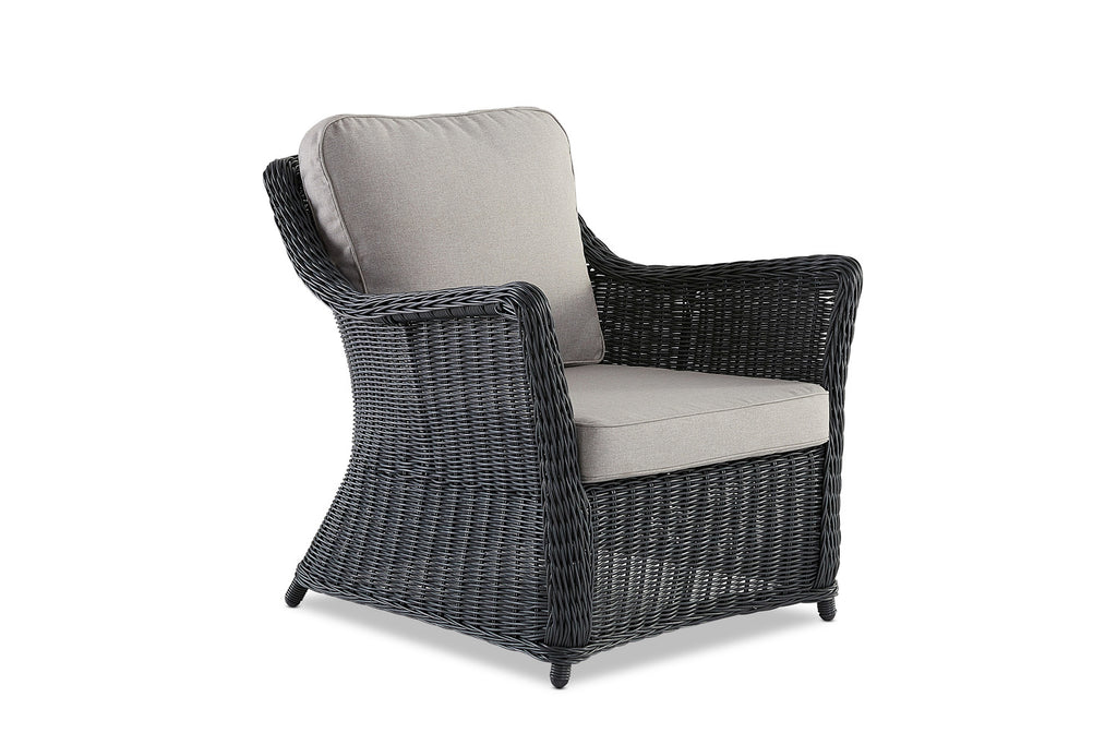 Ithaca Outdoor Lounge Chair Anthracite