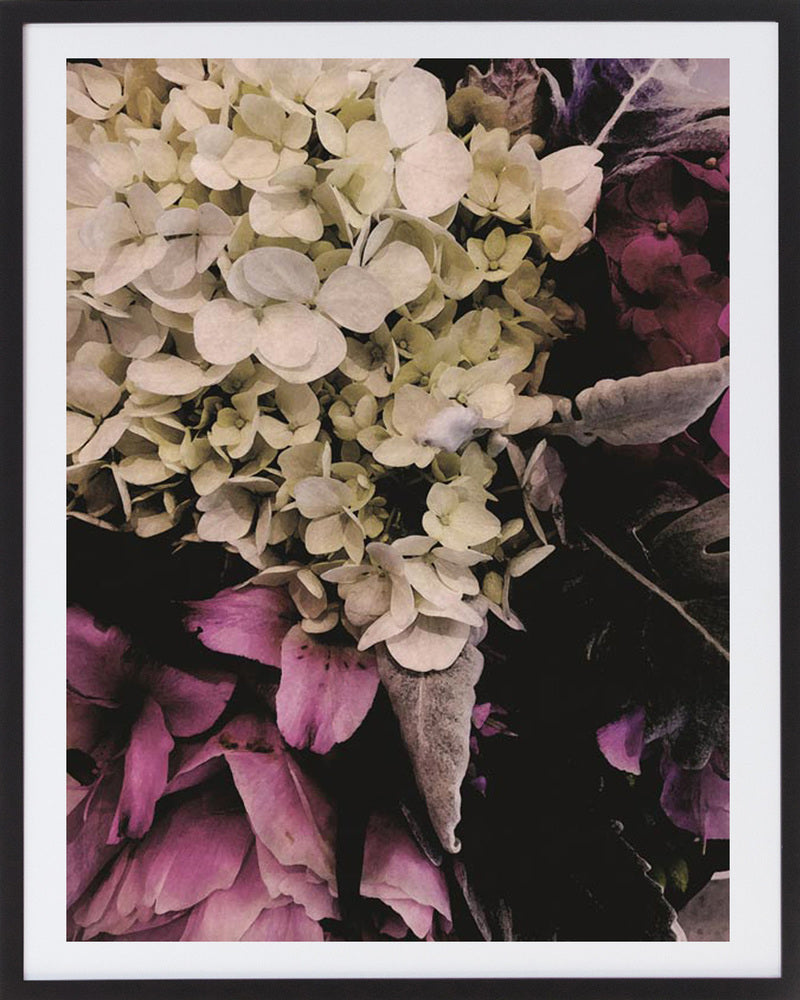 Floral Print 2 Framed Photographic Print