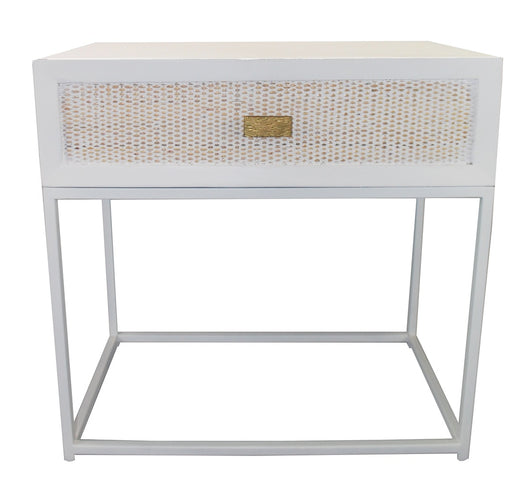 Sunshine Rattan Bedside Table