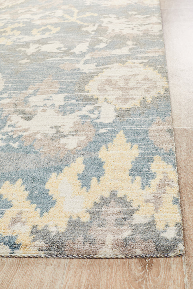 Behold Modern Yellow Rug