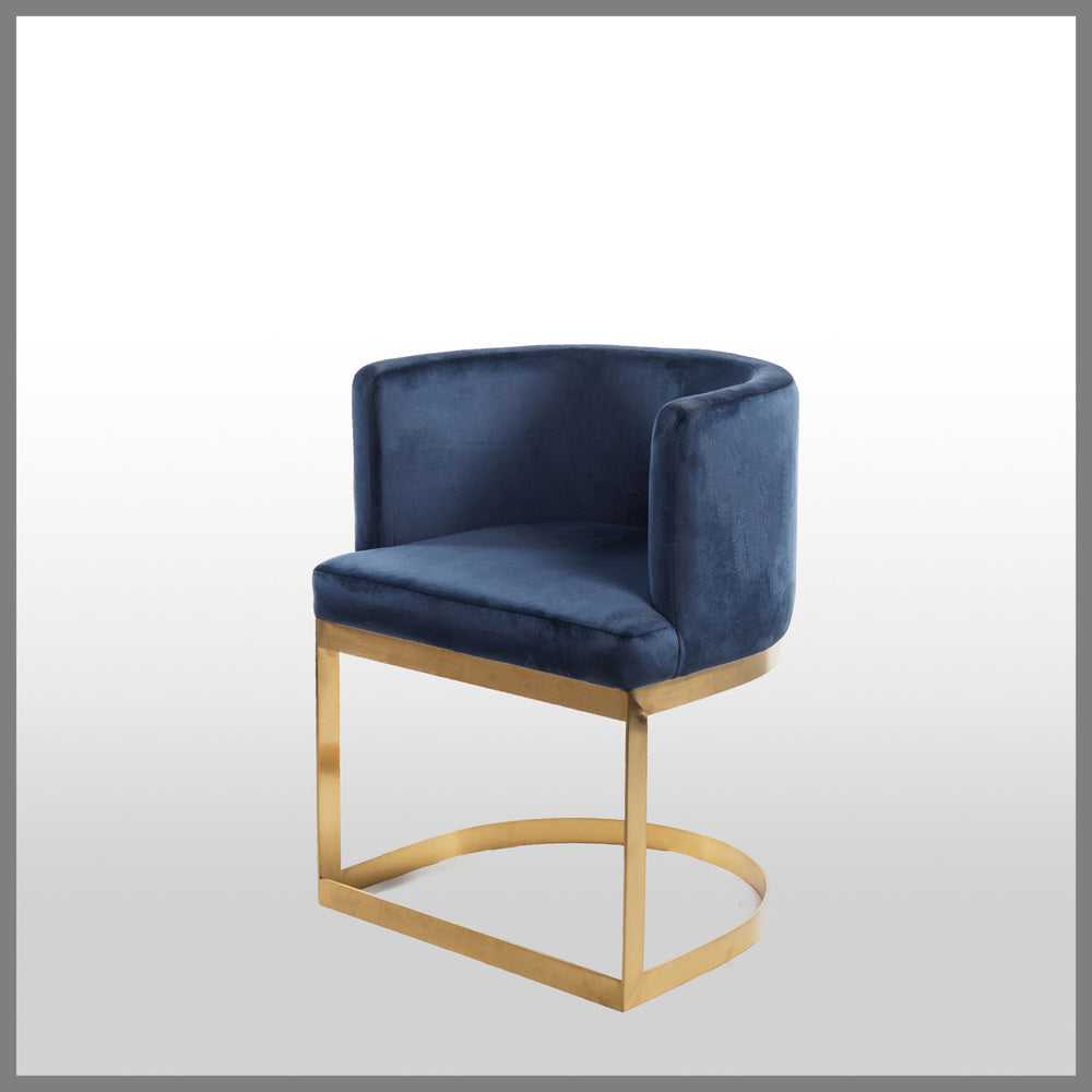 Milani Occasional Chair Navy