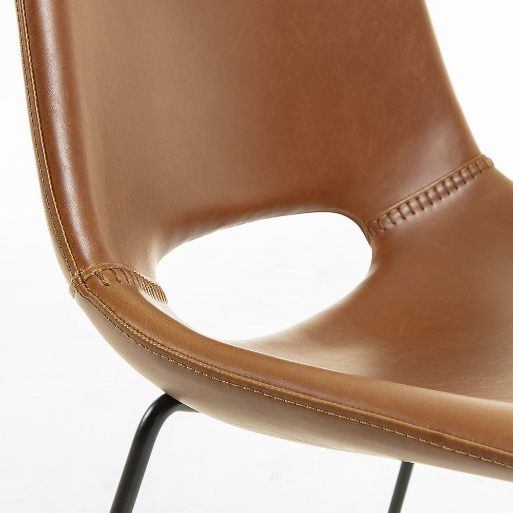 Panetti Dining Chair Rust