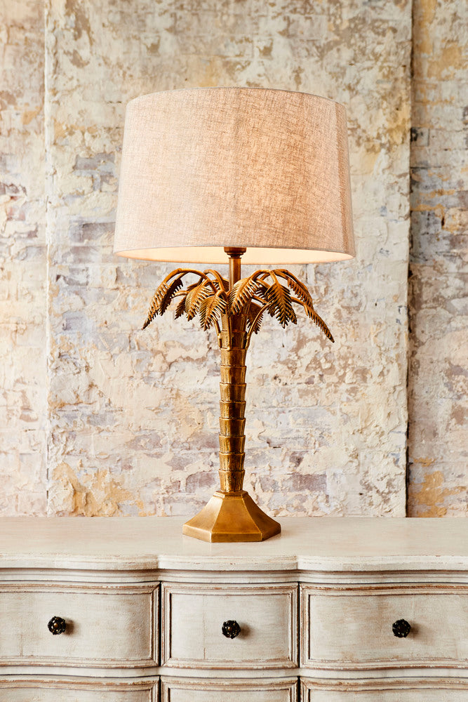 Tropicana Lamp with Shade