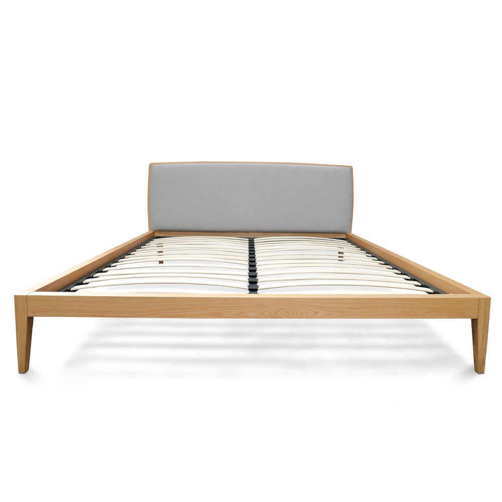Bayside Bed King Natural Oak