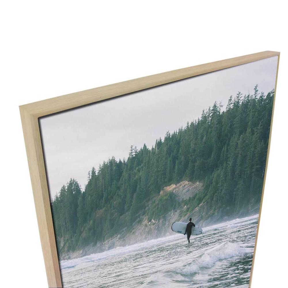 Tributary 3 Canvas Print with Floating Frame