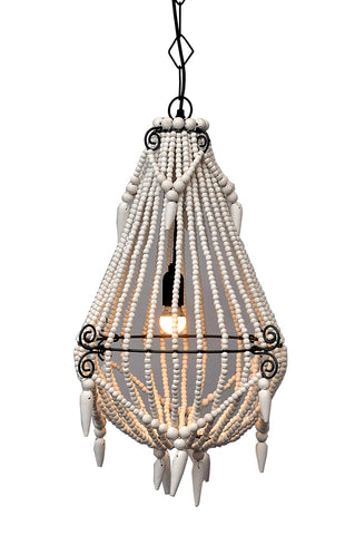 Nickel Hanging Dome Pendant Medium