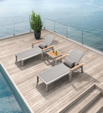 Geneva Chaise Sun Lounger Set/3