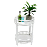 Hawthorne Bar Caddy White