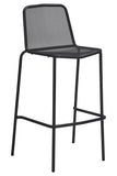 Visby Outdoor Bar Chair Anthracite