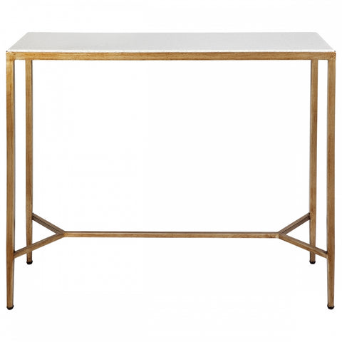 Chloe Console Table Gold Small