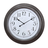 Chessel Black Wall Clock
