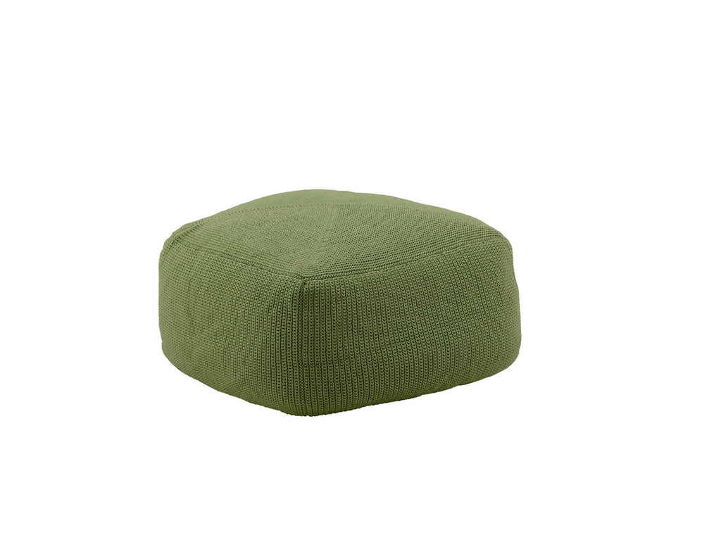 Divine Indoor/Outdoor Ottoman Olive Green