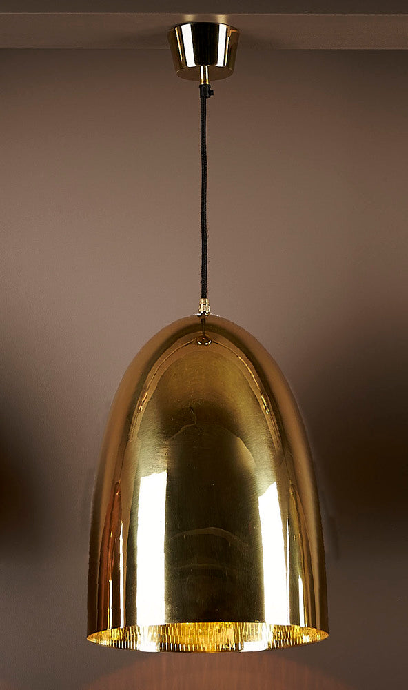 Washington Pendant Metallic Brass