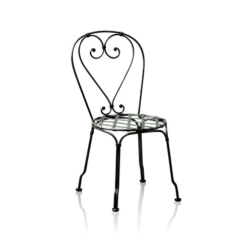 Bistro Wrought Iron Side Chair
