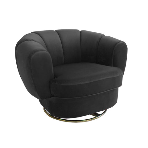 Kinsley Swivel Chair Black