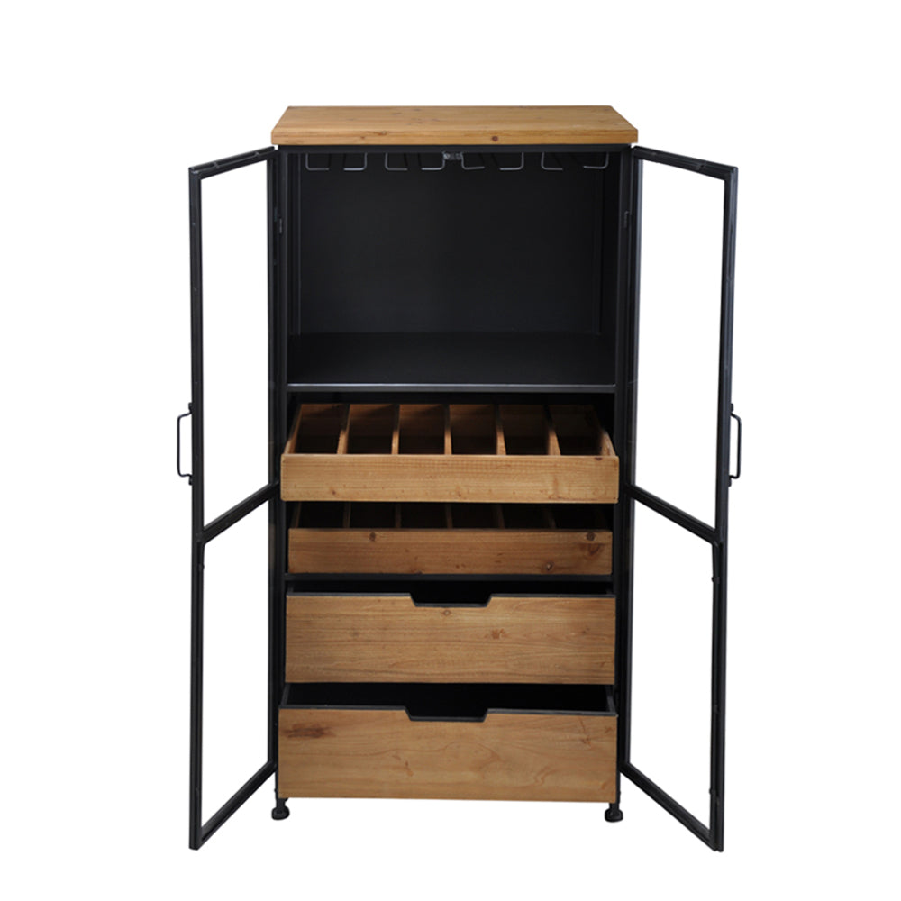 Acomby Tall Wine Cabinet