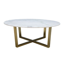 York Round Marble Coffee Table