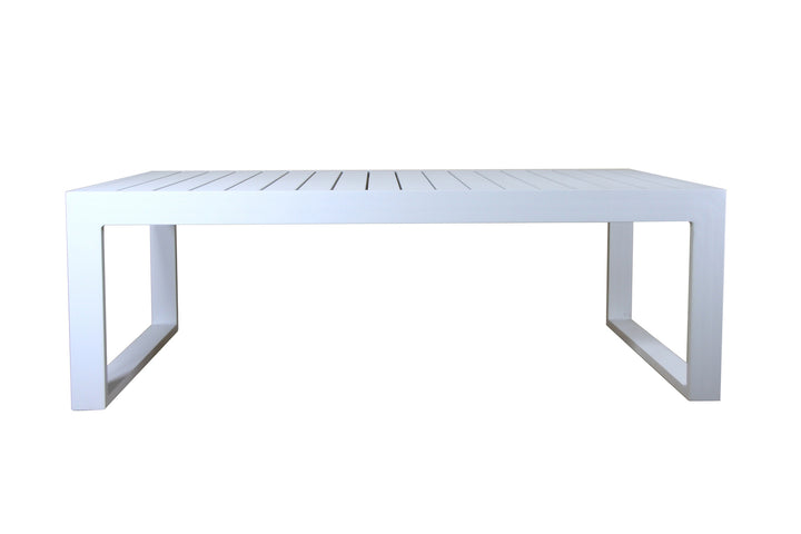 Samera Outdoor Coffee Table White