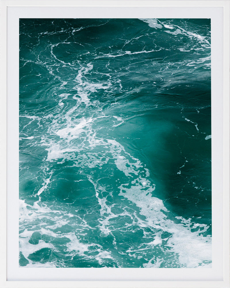 Sea 5 Framed Photographic Print