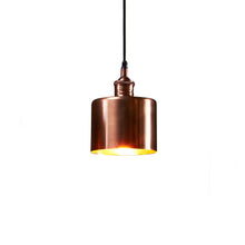 Lugano Pendant Antique Copper Small