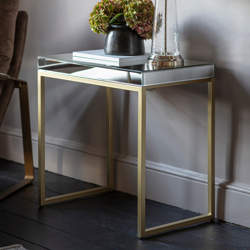 Smithson Side Table Champagne