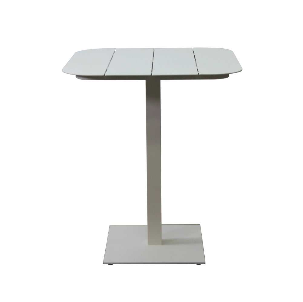Mojito Outdoor Bar Table White