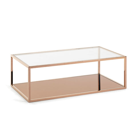 Giatti Rectangular Coffee Table Copper