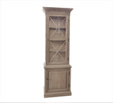 Lafitte Single Door Cabinet Weathered Oak
