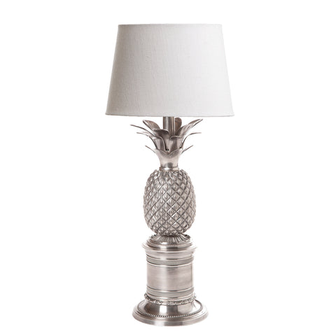 Saint Martin Table Lamp Antique Silver