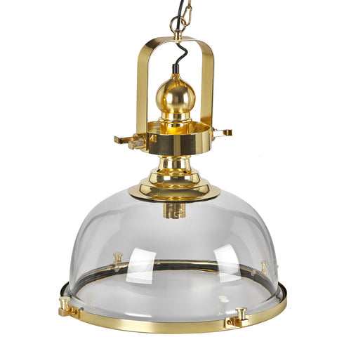Baker Pendant Polished Brass