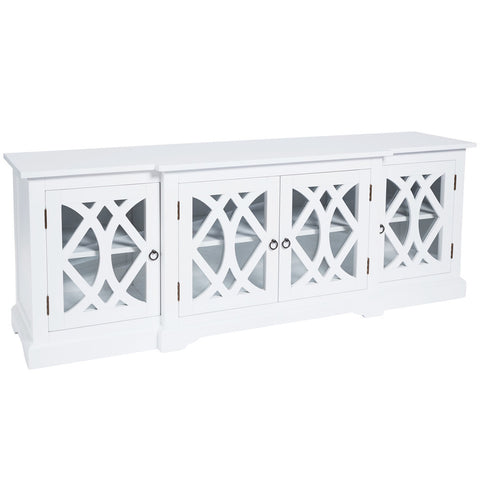 Boston Entertainment Unit White