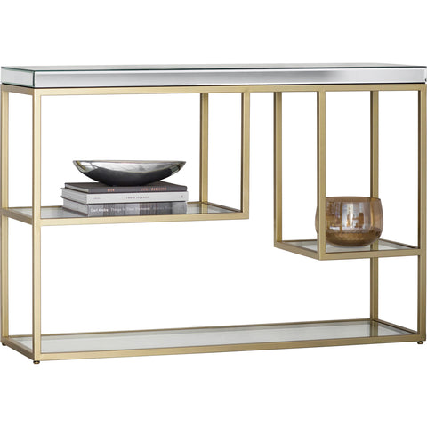 Smithson Console/Shelving Unit Champagne