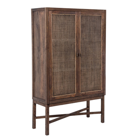 Palm Island Cabinet Brown