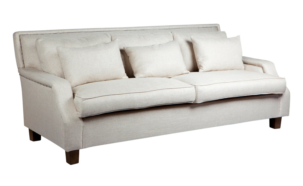 Riley Sofa 3 Seater Oatmeal Interiors Online