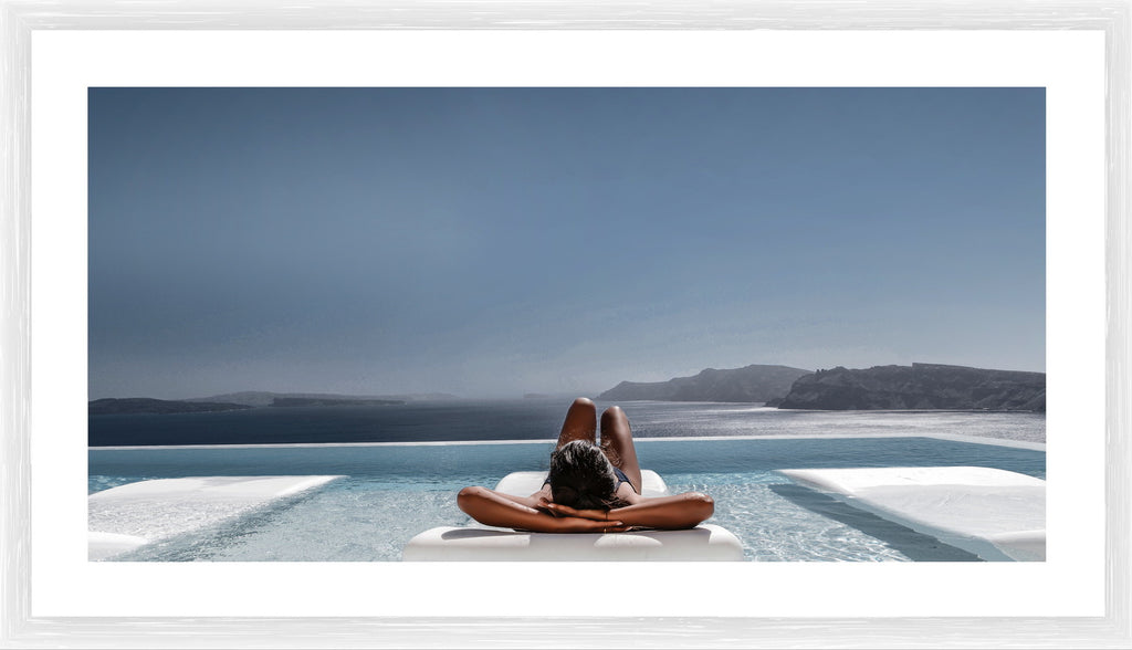 Sunkissed Photographic Print with Frame