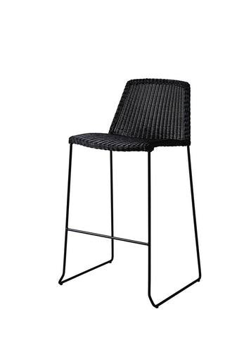 Breeze Stackable Bar Chair Black