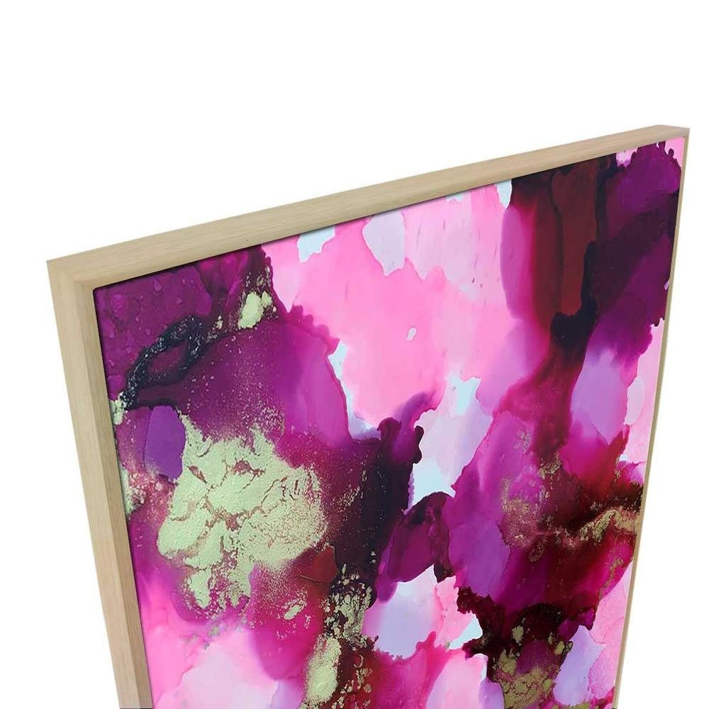 Girl Friday Canvas Print with Floating Frame