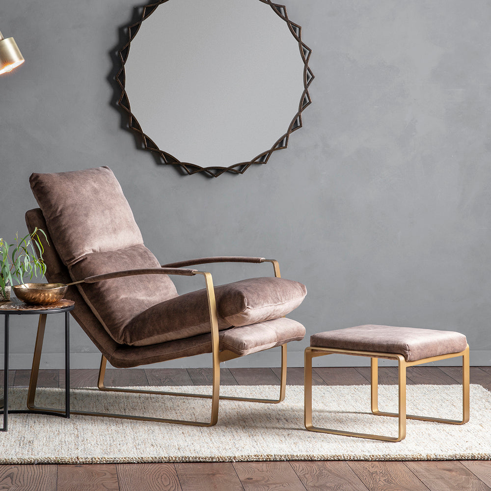 Vicenza Lounger Mineral