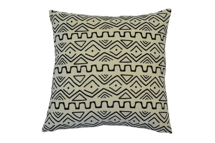 Zulu Black and White Cushion