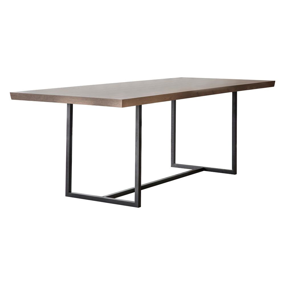 Fareham Dining Table Natural with Grey Wash 200cm