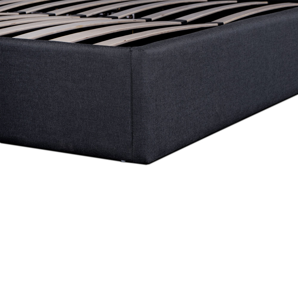 Gordan Bed Charcoal King