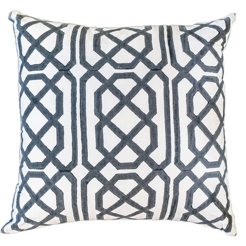 Jagger Print Black and White Lounge  Cushion