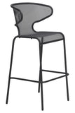 Malmo Outdoor Bar Chair Anthracite