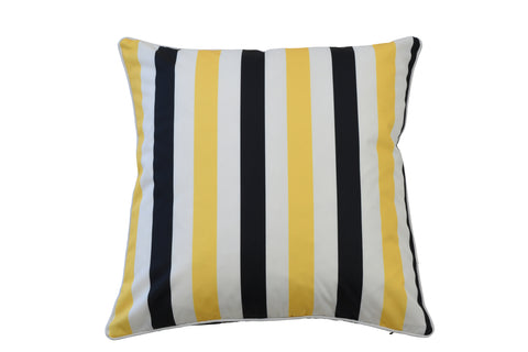 Rodeo Navy Cushion Rectangular