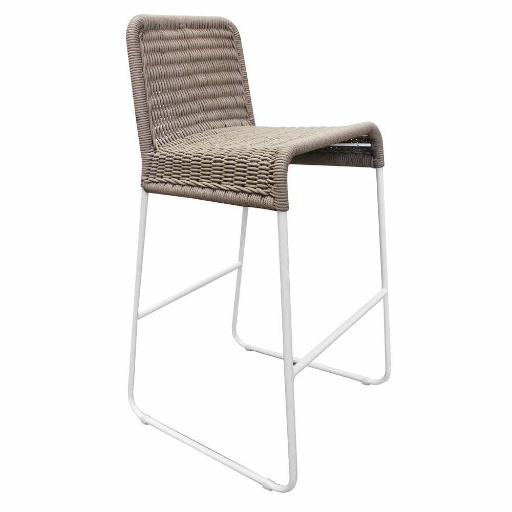 Gonubie Outdoor Bar Chair Taupe